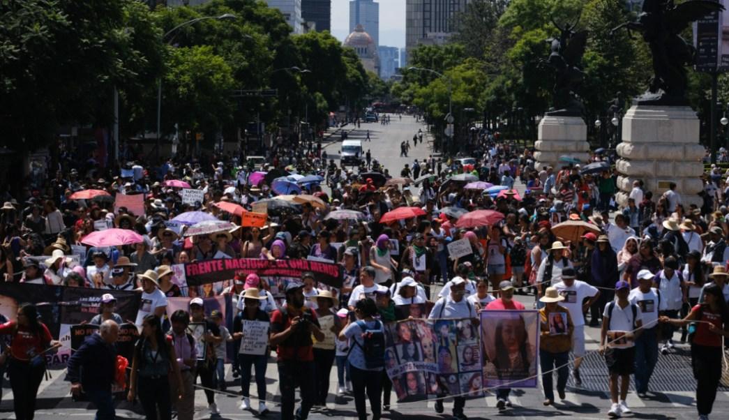 Marchas y protestas afectarán la vialidad en CDMX., 3 octubre 2019