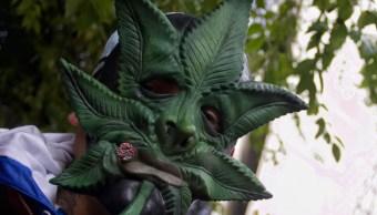 FOTO Reforma para regular marihuana, atorada por presiones, denuncia Monreal (Cuartoscuro/Andrea Murcia)