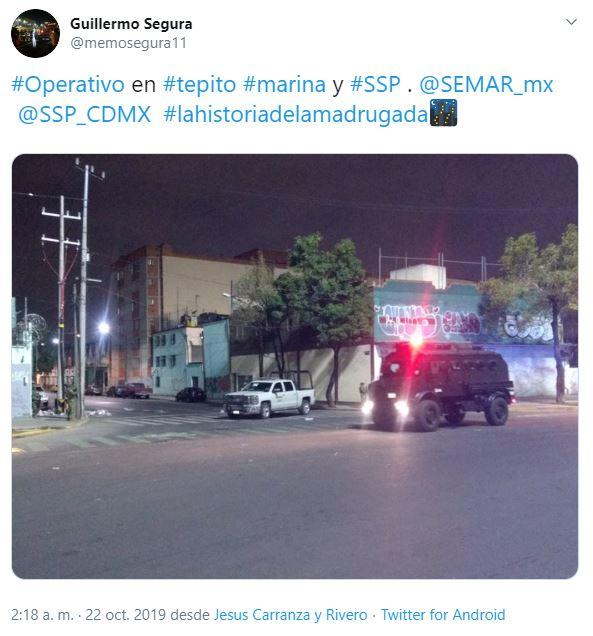Foto Marina catea vecindad en el barrio de Tepito, CDMX