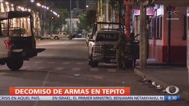 Marina descubre túneles de seguridad durante operativo en Tepito