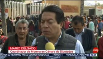 FOTO: Mario Delgado avala acuerdo entre México y EU tras violencia en Culiacán, 20 octubre 2019