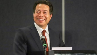 Fotos: Mario Delgado convocó a un acuerdo político para definir que el método de elección sea a través de encuesta y establecer los términos, 9 de octubre de 2019 (@mario_delgado)