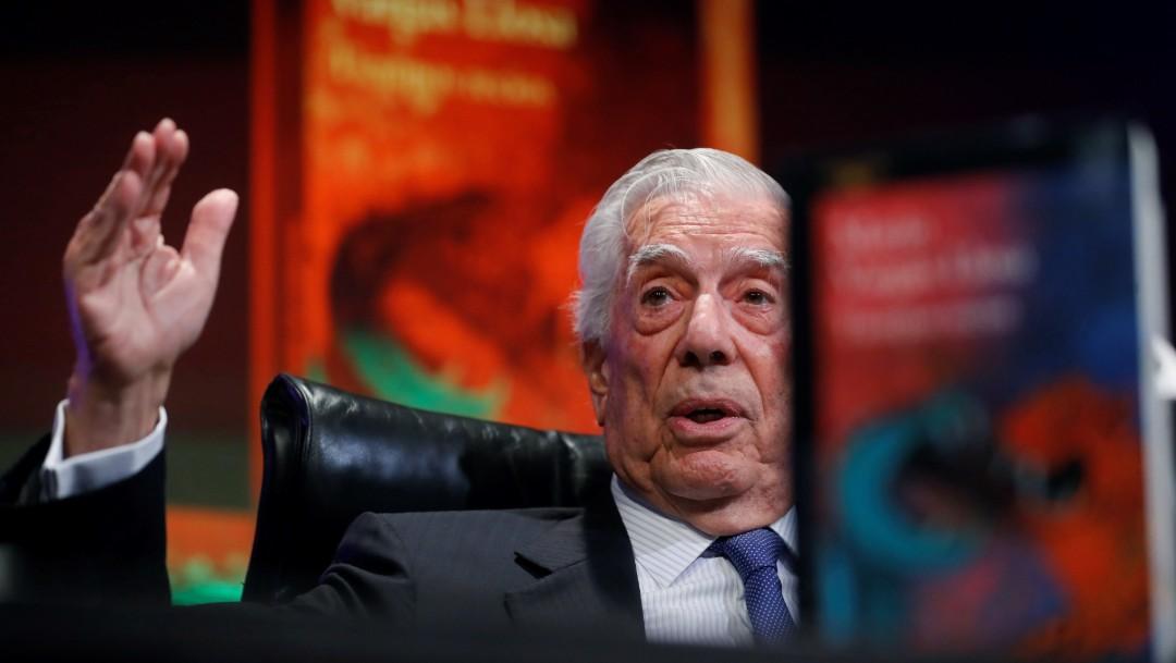 Foto: Mario Vargas Llosa presenta nueva novela, 8 de octubre de 2019, España