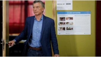 Foto: Mauricio Macri acepta derrota en Argentina, 27 de octubre de 2019 (EFE)