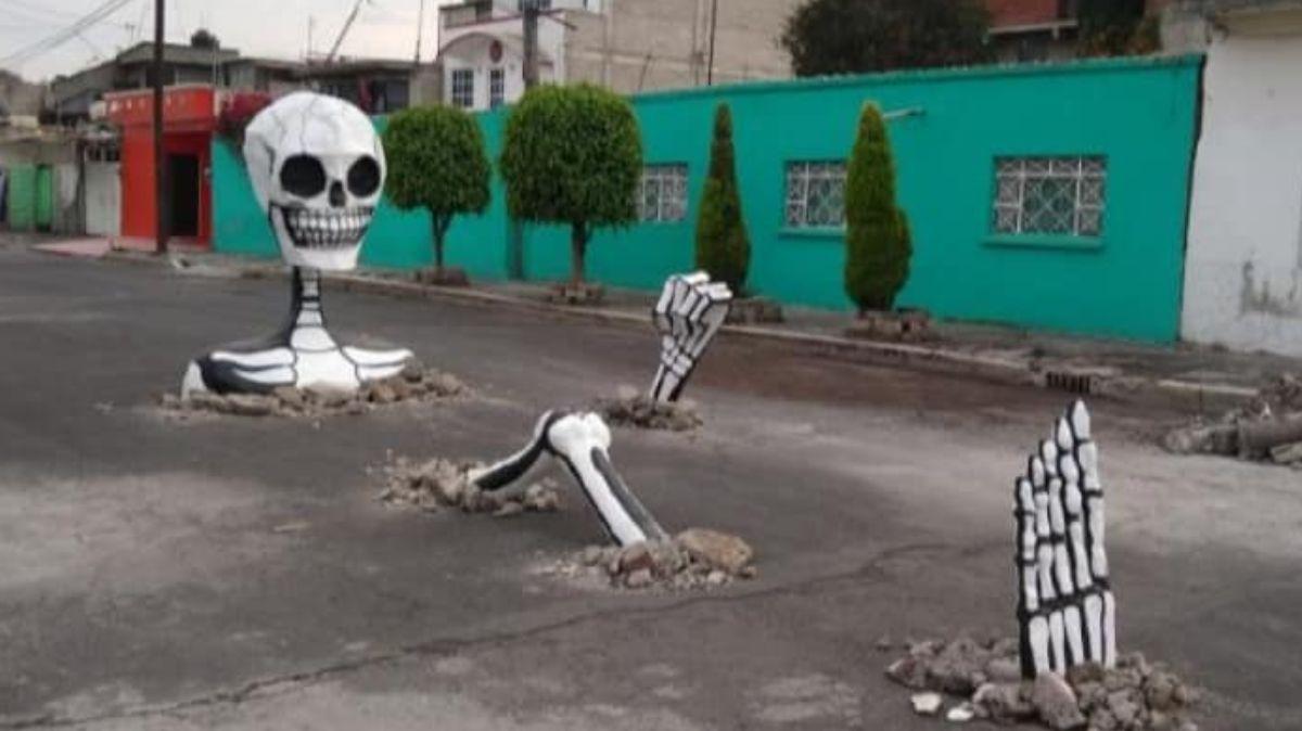 Mega calavareas en la alcaldía Tláhuac