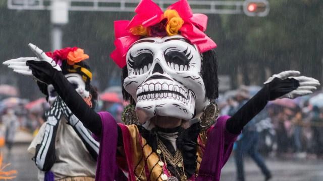 Foto Desfile Día Muertos 31 Octubre 2019