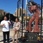 Foto: Artista mexicano crea la catrina de Selena Quintanilla