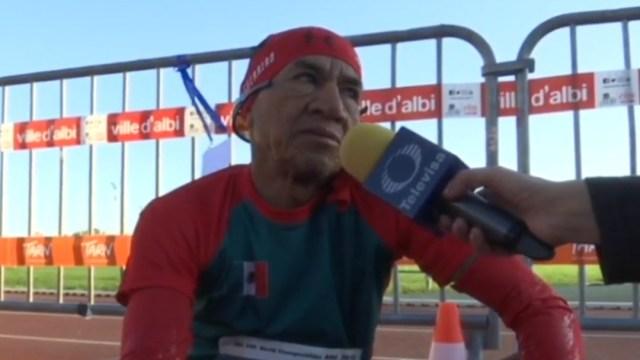 Foto: Mexicano de 60 años enfrenta el reto deportivo más extremo de su vida