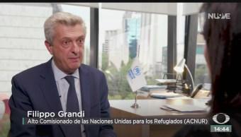 FOTO: México País Con Gran Tradición Asilo Filippo Grandi