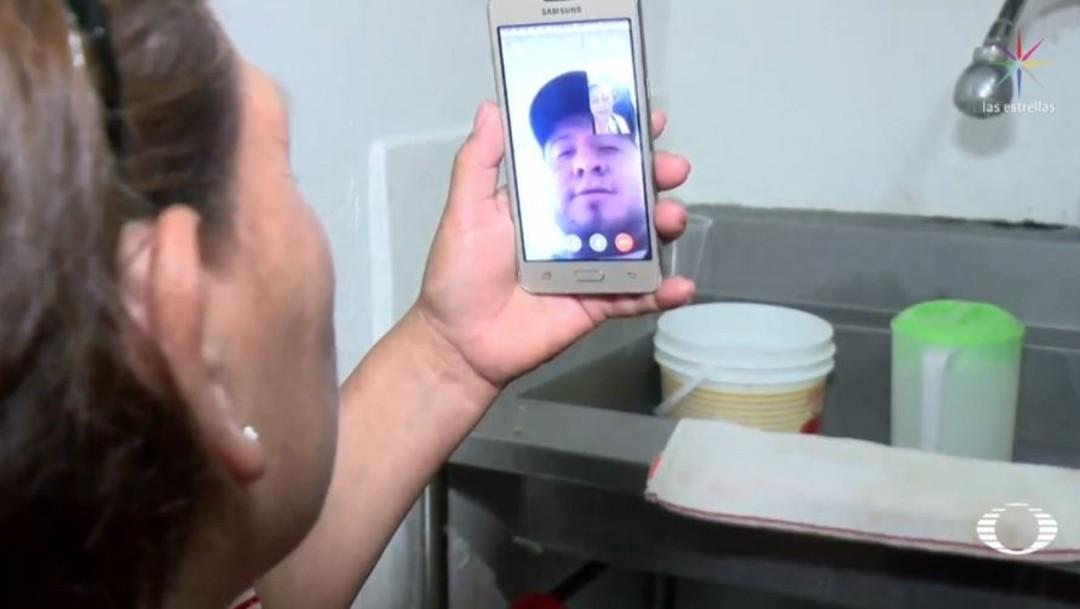 Foto Migrante de Zacatecas desaparecido se comunica con su madre