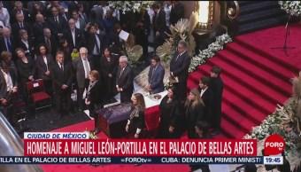 Foto: Miguel López-Portilla Recibe Homenaje Póstumo Bellas Artes 3 Octubre 2019