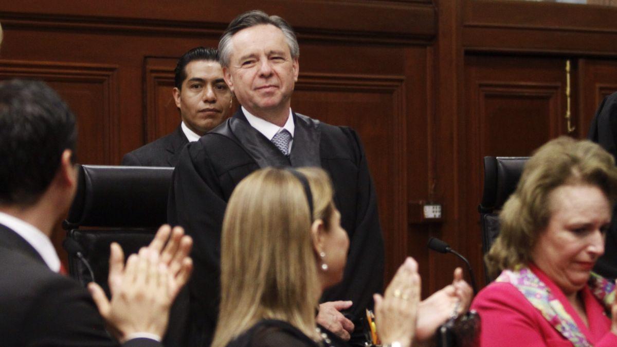 Ministro Eduardo Medina Mora.