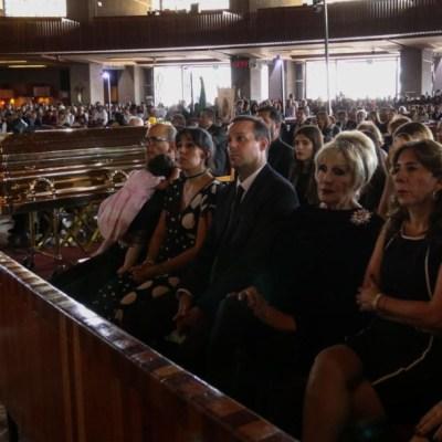 Realizan misa en memoria de José José en la Basílica de Guadalupe