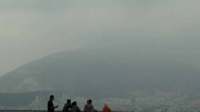 Foto: Monterrey registra mala calidad del aire, 30 de octubre de 2019 (Noticieros Televisa)