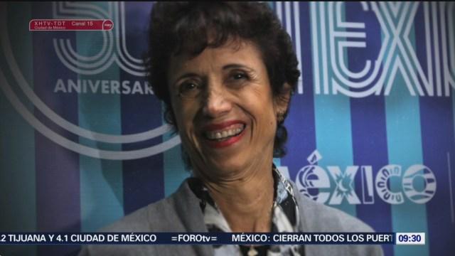 FOTO: Muere Enriqueta Basilio, primera mujer en encender un Pebetero Olímpico, 27 octubre 2019