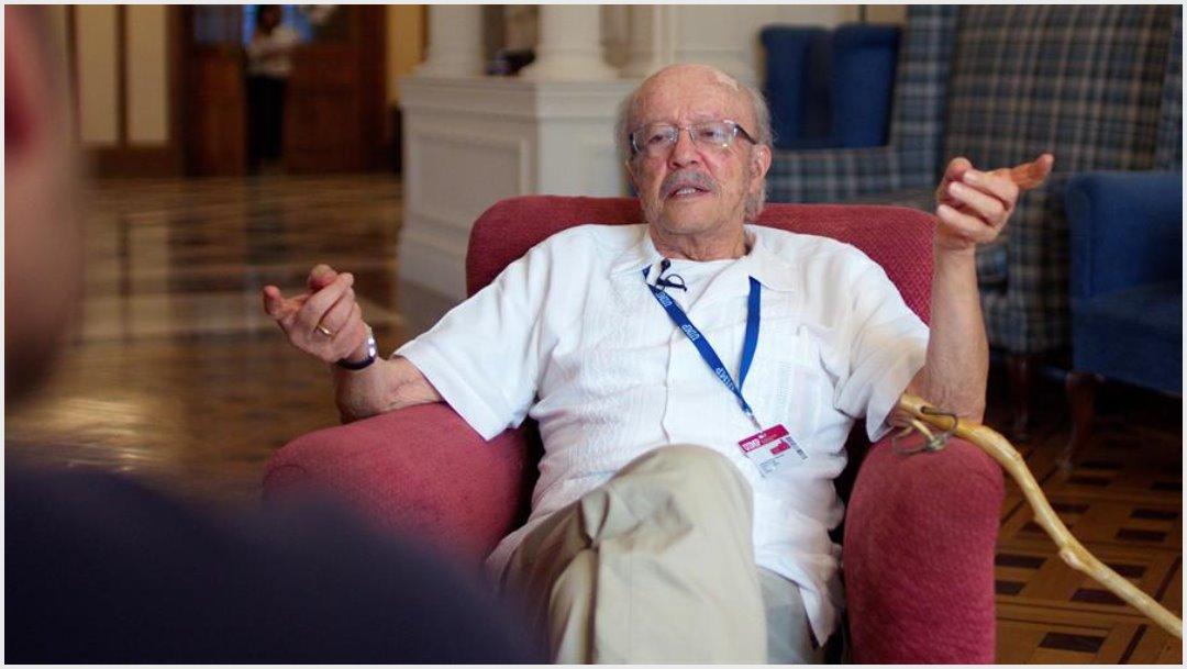 Imagen: Javier Darío Restrepo murió a los 87 años de edad, 6 de octubre de 2019 (EFE)