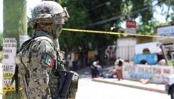 enfrentamiento acapulco guerrero tres muertos