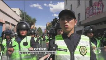 Foto: Mujeres Policías Ateneas Orden Ciudadanía 2 Octubre 2019