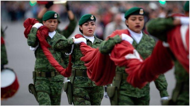 Imagen: Proponen servicio militar obligatorio para las mujeres, 27 de octubre de 2019 (GOBIERNO DE LA REPÚBLICA /CUARTOSCURO.COM)