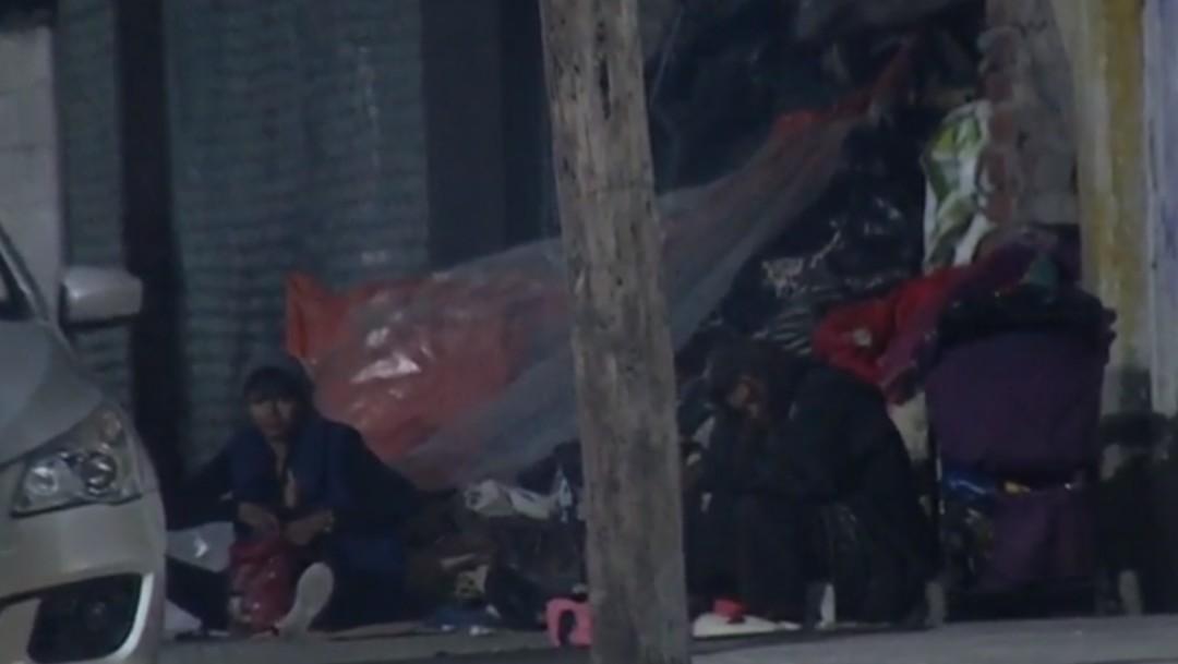 Foto: Mujeres en situación de calle, 8 de octubre de 2019, Ciudad de México