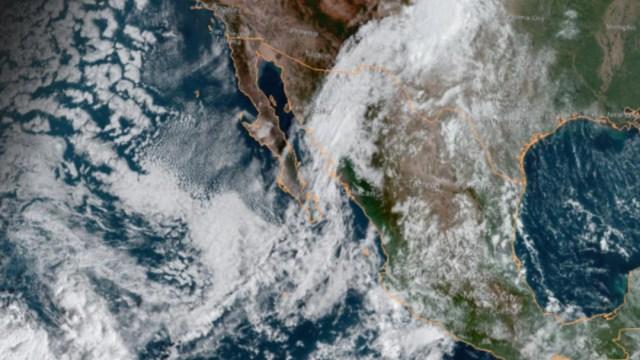 IMAGEN 'Narda' alcanza Sonora como baja presión remanente (NOAA)