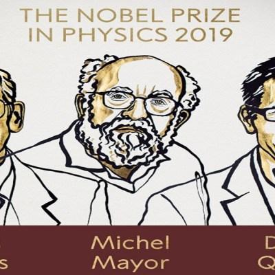 Nobel de Física para Peebles, Mayor y Queloz, por sus trabajos sobre la evolución del Universo
