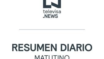 Resumen de noticias mañana del 5 de octubre del 2019