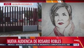 Nueva audiencia de Rosario Robles en el Reclusorio Sur