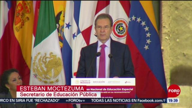 Foto: Nueva Escuela Mexicana Buscará Educación Personalizada Esteban Moctezuma 9 Octubre 2019