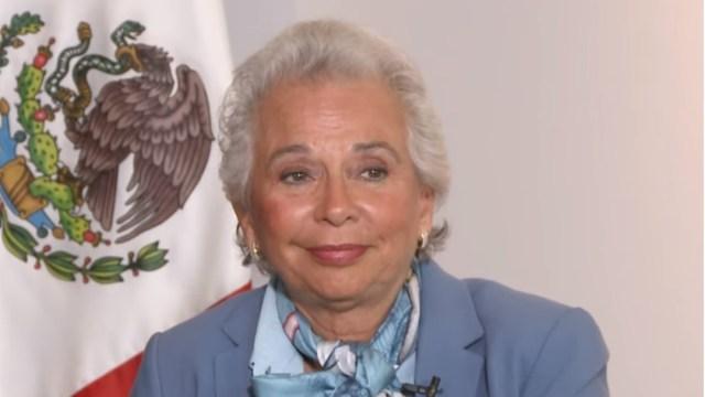 Foto: Sánchez Cordero Es tiempo de que México tenga una presidenta, 15 de octubre de 2019
