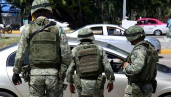Operativo del Ejército mexicano en Acapulco