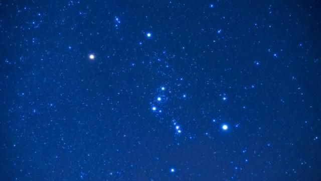 Foto: La constelación de orión está a 1.500 años luz de la Tierra, 20 de octubre de 2019 (Pixabay)