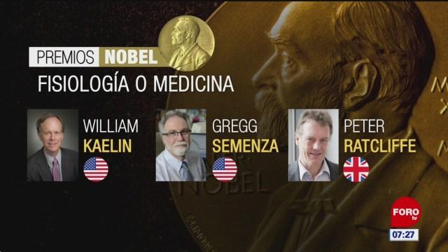 Otorgan el Nobel de Medicina a dos estadounidenses y un británico