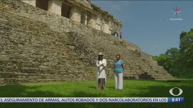Palenque muestra un concepto asombroso de urbanismo, según especialista del INAH