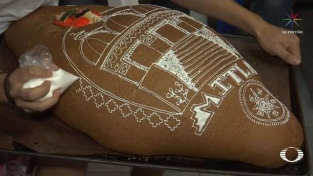 Foto: Desde hace más de 20 años, la panadería de Guillermina produce casi 50 mil piezas de pan de muerto con un decorado auténtico