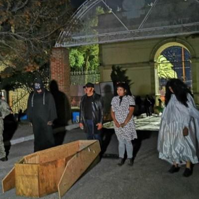 Panteón municipal de Pachuca abre sus puertas para Noches de Leyendas