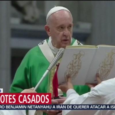 Papa Francisco analizará propuesta de abolición del celibato