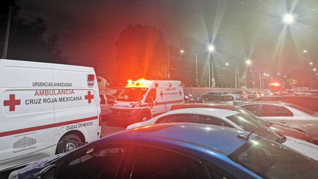 Foto: Paramédicos de la Cruz Roja atendieron a la familia intoxicada, 11 octubre 2019