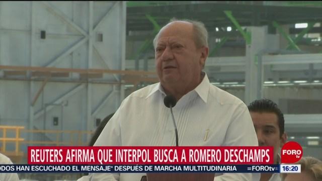 FOTO: Piden a la Interpol ayuda para localización de Carlos Romero Deschamps: Reuters, 26 octubre 2019