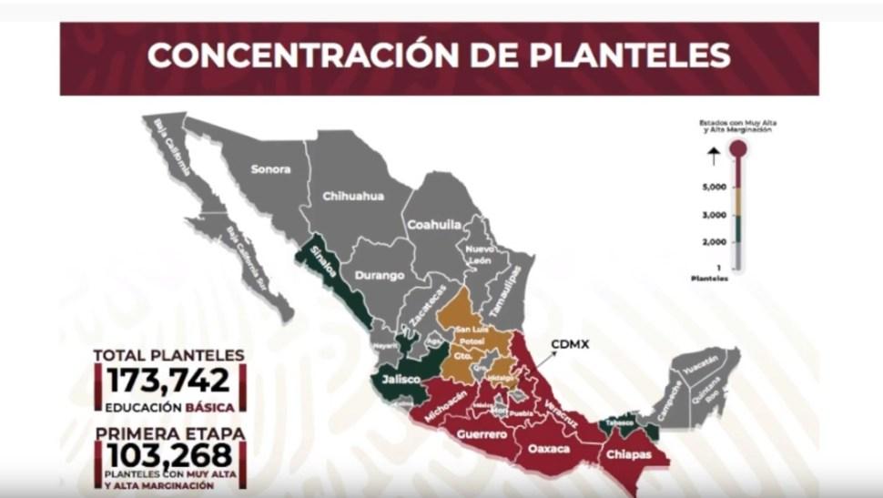 Foto: Concentración de planteles educativos,4 de octubre de 2019, México