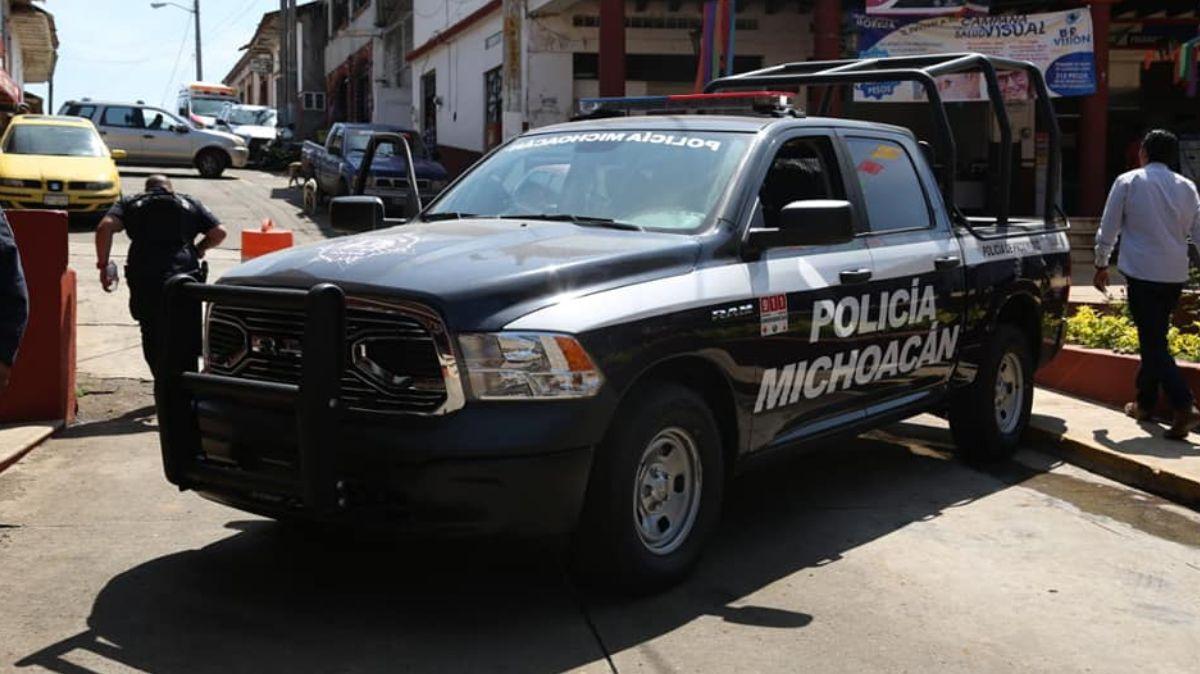 Operativo de serguridad en Michoacán