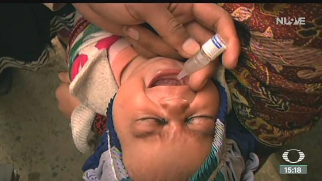FOTO: Poliovirus es erradicado en todo el mundo, anuncia OMS, 25 octubre 2019