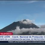 FOTO: Popocatépetl Lleva Más 80 Exhalaciones Este Jueves