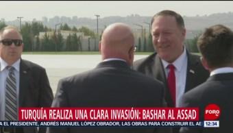 Presidente de Siria acusa a Turquía de invasión