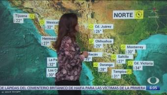 Prevén lluvias intensas en Sonora, Chihuahua y Chiapas