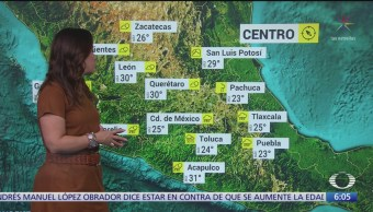 Prevén lluvias intensas en Tamaulipas, Puebla y Veracruz