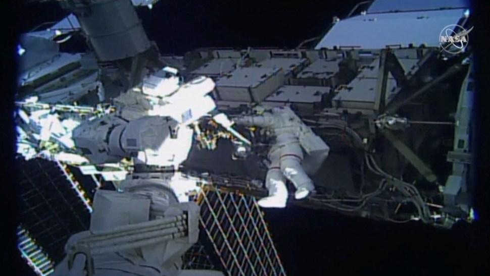 Primera caminata espacial exclusivamente de mujeres, 18 de octubre de 2019,