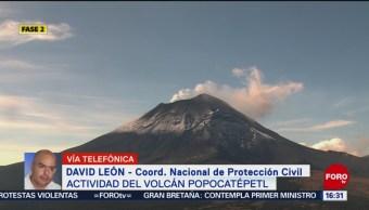 FOTO: Protección Civil Desmiente Explosión Volcán Iztaccíhuatl