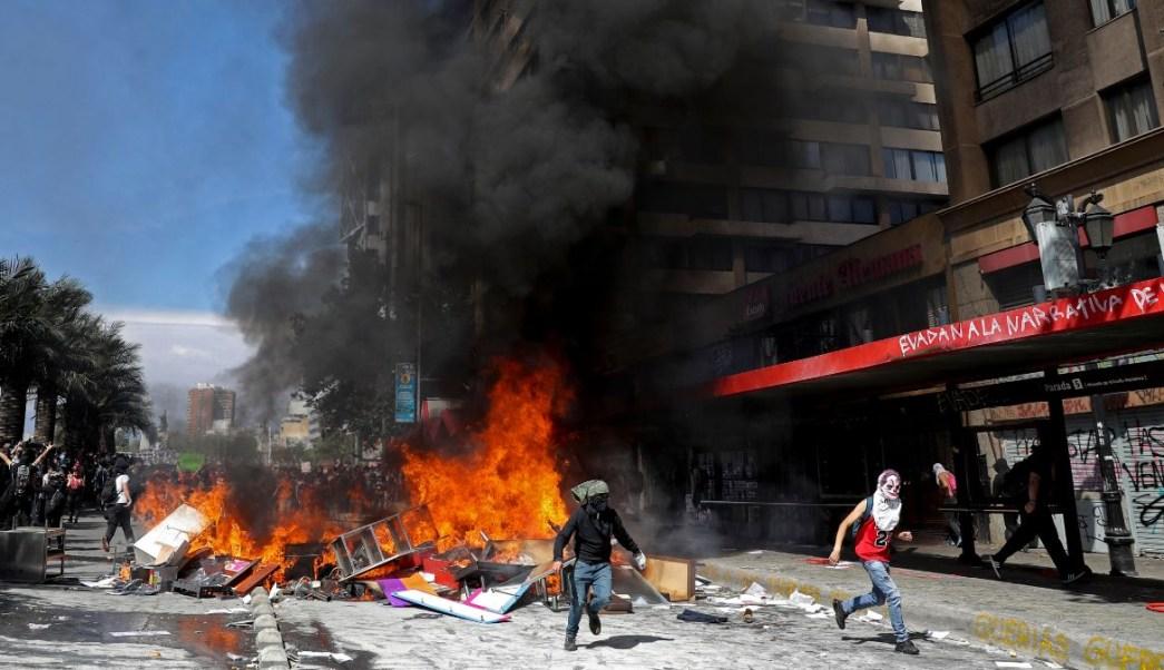 Protestas en Chile, suman 11 muertos