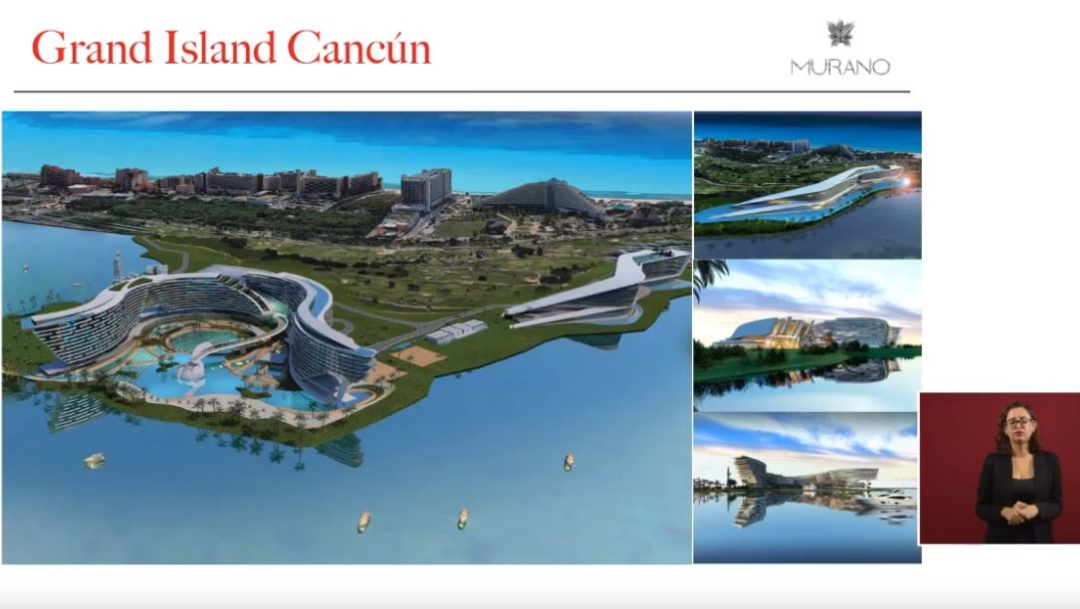 Foto: Empresarios presentan proyecto de infraestructura turística en Cancún, 16 octubre 2019